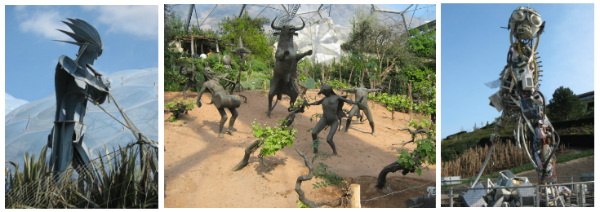 Eden Project sculptures
