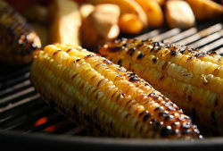 corn on the barbecue